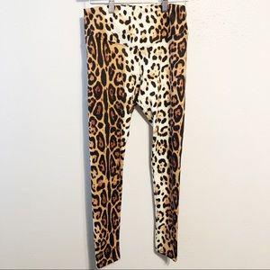 NWT Buddy Love leopard leggings size small